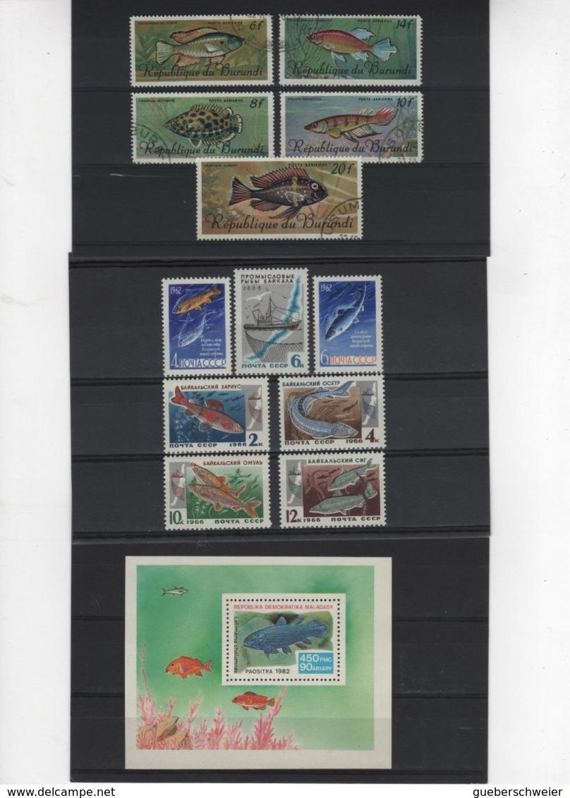 Carton De 2,5 Kg De Timbres, Lettres, Entiers Postaux, Aérogrammes, Beau Lot De Timbres De France Et Thèmes Neufs**/* O - Collections