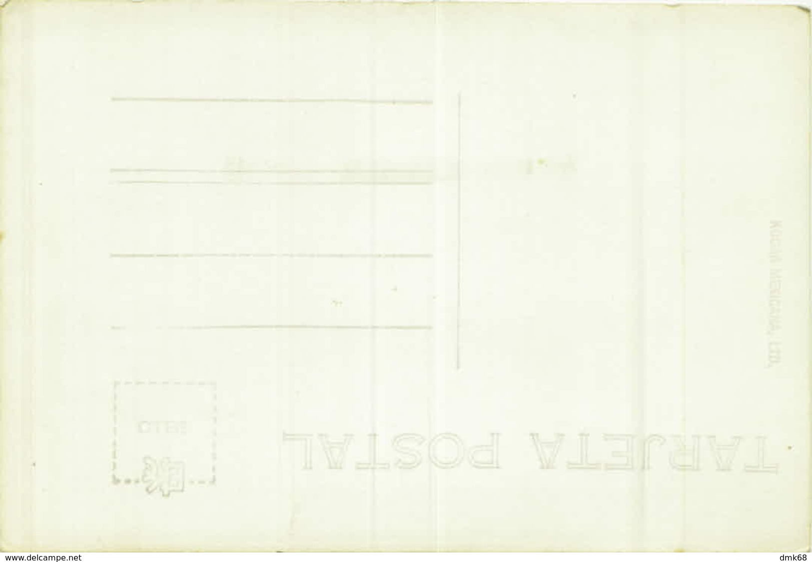MEXICO - PLAYA DE SALAGUA - MANZANILLO - RPPC POSTCARD - EDIT KODAK MEXICANA LTD . 1940s (BG4638) - Messico