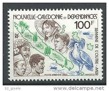 """Nle-Caledonie Aerien YT 226 (PA) """" Outre-Mer """" 1982 Neuf** - Luftpost"""