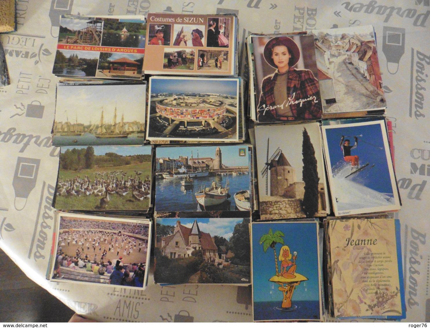 LOT  DE  3200  CARTES  POSTALES   DE  FRANCE - Cartes Postales