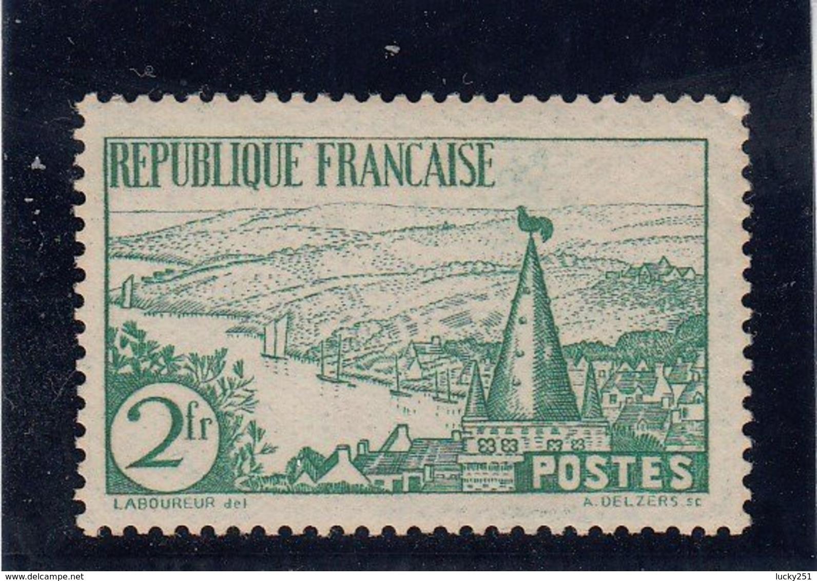France - 1935 - N°Y.T. 301** Rivière Bretonne - Nuovi