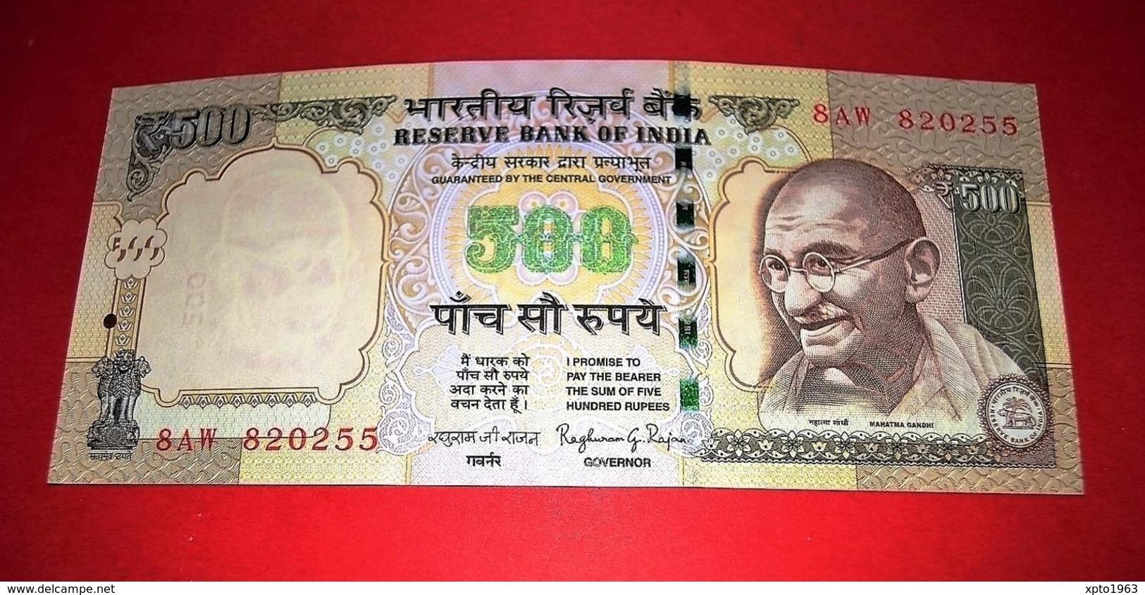 INDIA 500 RUPEES 2013 UNC - NEUF - FDS - India