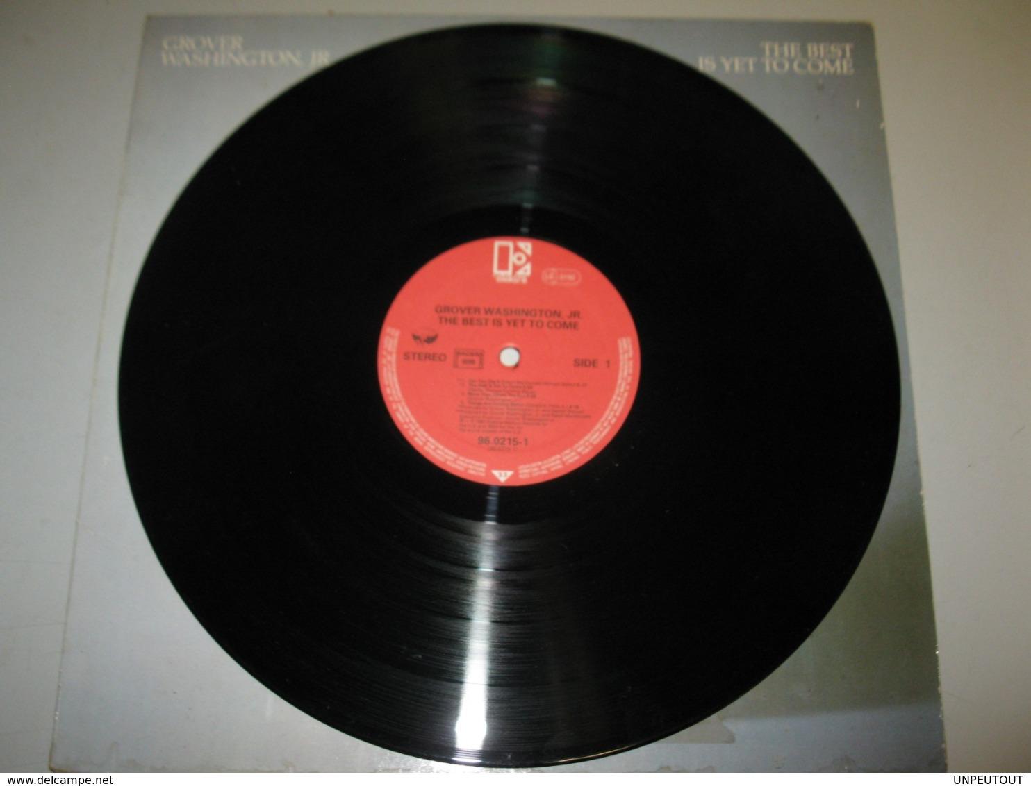 "VINYLE GROVER WASHINGTON JR ""THE BEST IS YET TO COME"" 33 T ELEKTRA / ASYLUM (1982) - Vinyl Records"