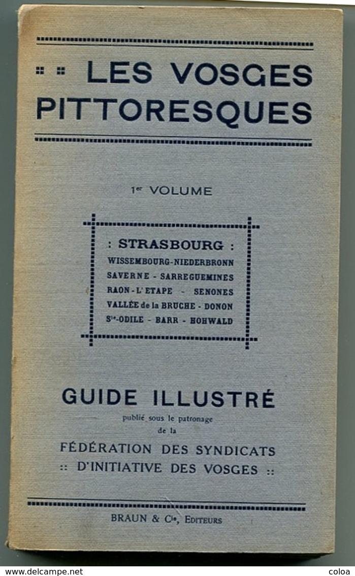Les Vosges Pittoresques Guide Illustré 1° Volume Strasbourg - Livres, BD, Revues