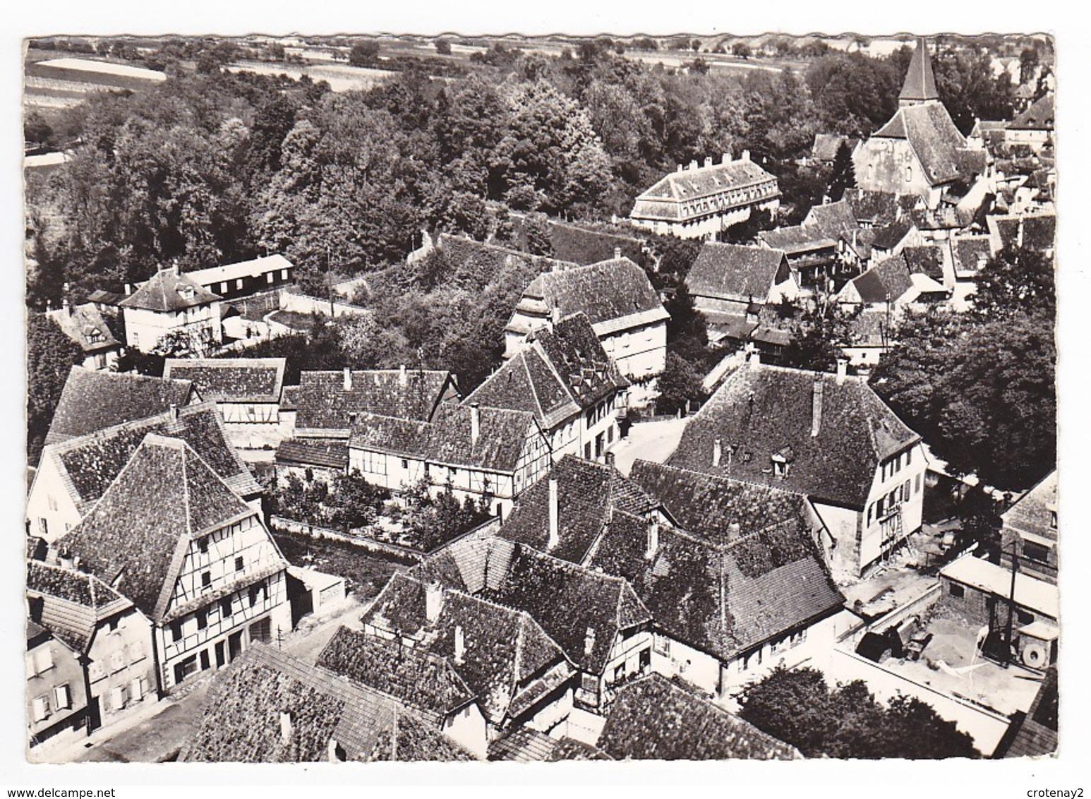 67 En Avion Au Dessus De Wissembourg N°16 Eglise Saint Jean En 1967 VOIR ZOOM Travaux Bâtiment Echelle VOIR DOS - Wissembourg