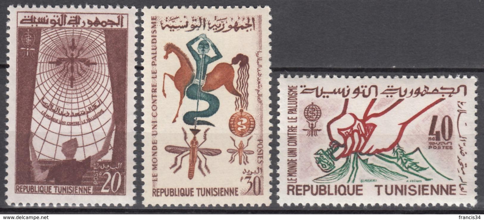 Du N° 545 Au N° 547 - X X - ( E 1551 ) - Tunisia (1956-...)