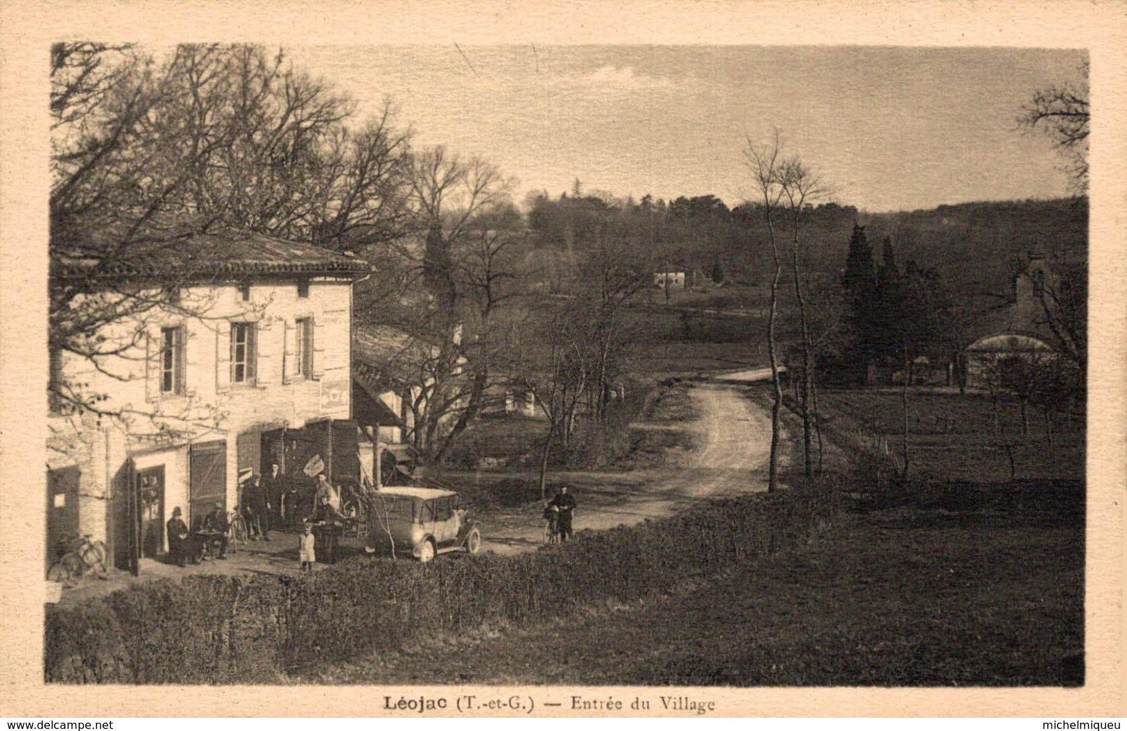 9358 -2019   LEOJAC   ENTREE DU VILLAGE - Francia