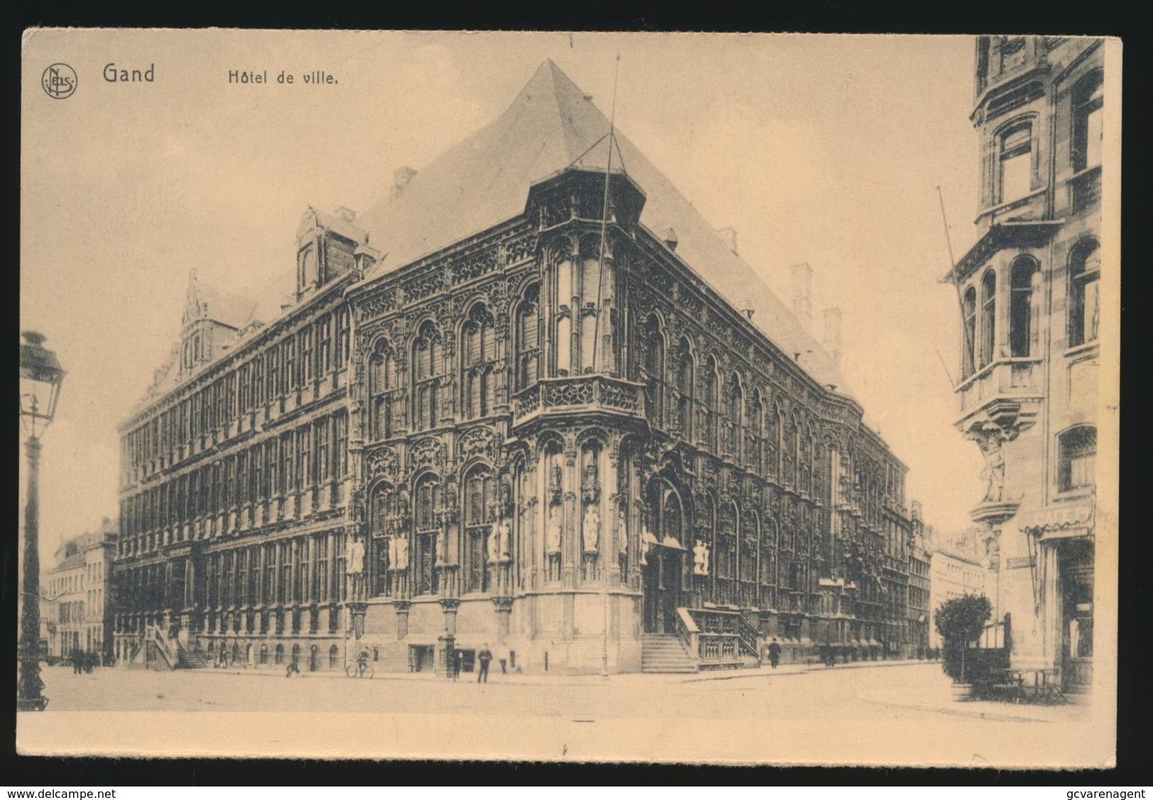 GENT   HOTEL DE VILLE - Gent