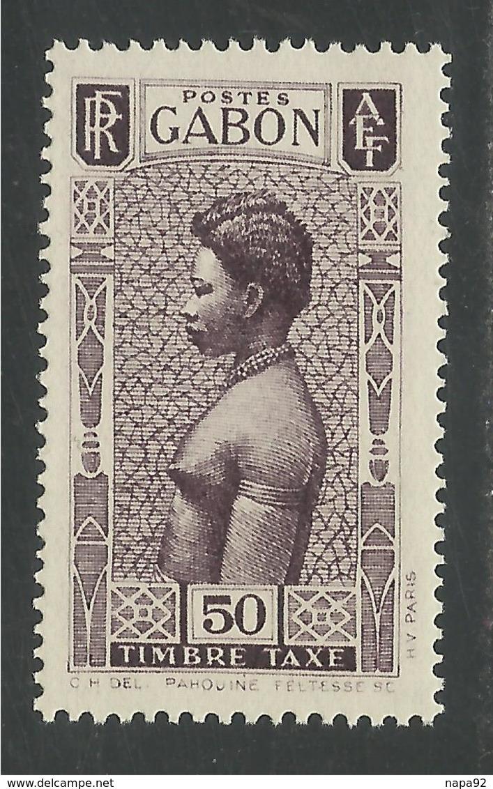 GABON 1932 YT TAXE 29** - NEUF SANS TRACE DE CHARNIERE - MNH - Ongebruikt