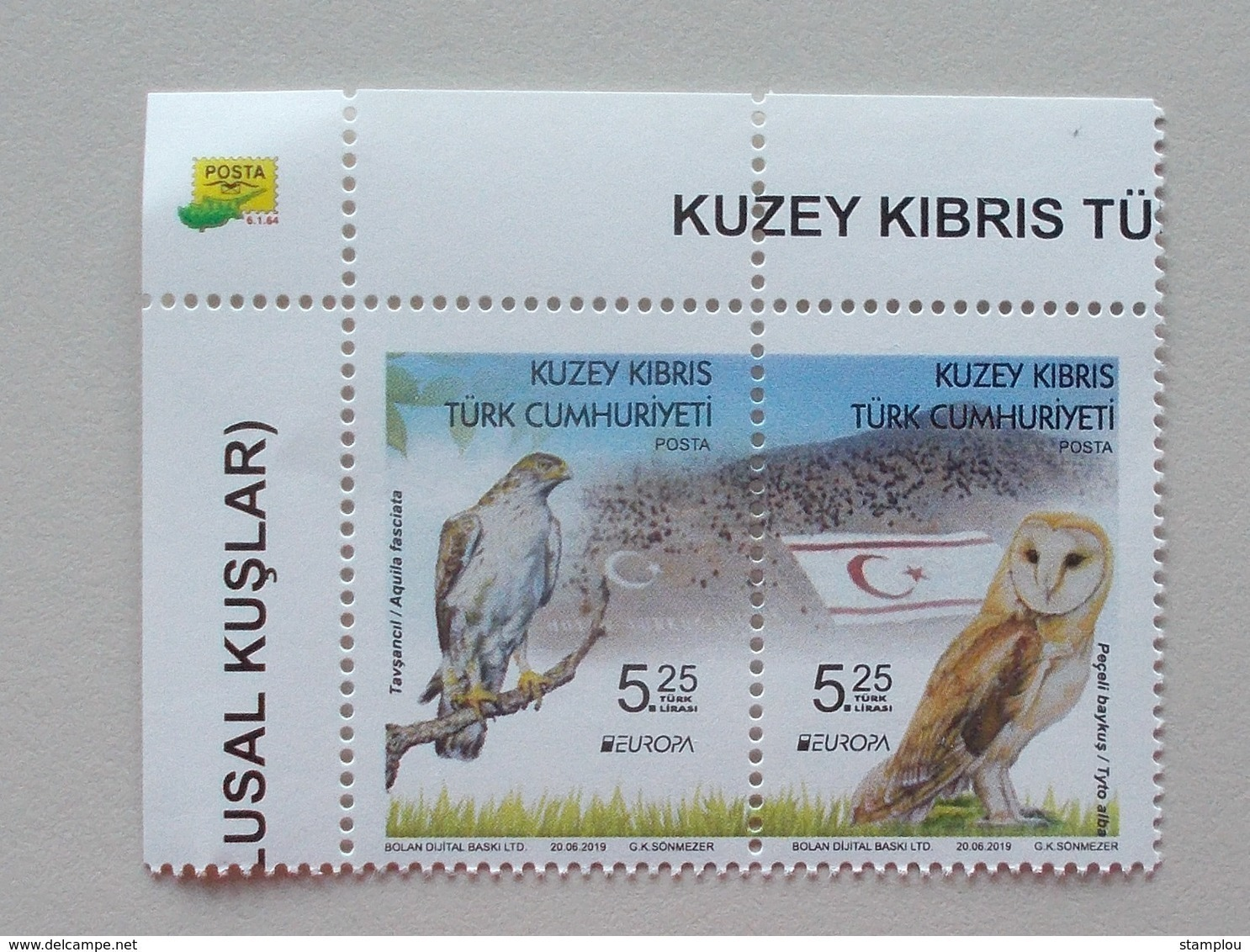 Turkije Cyprus( Turkish Post) 2019 Cept PF - 2019