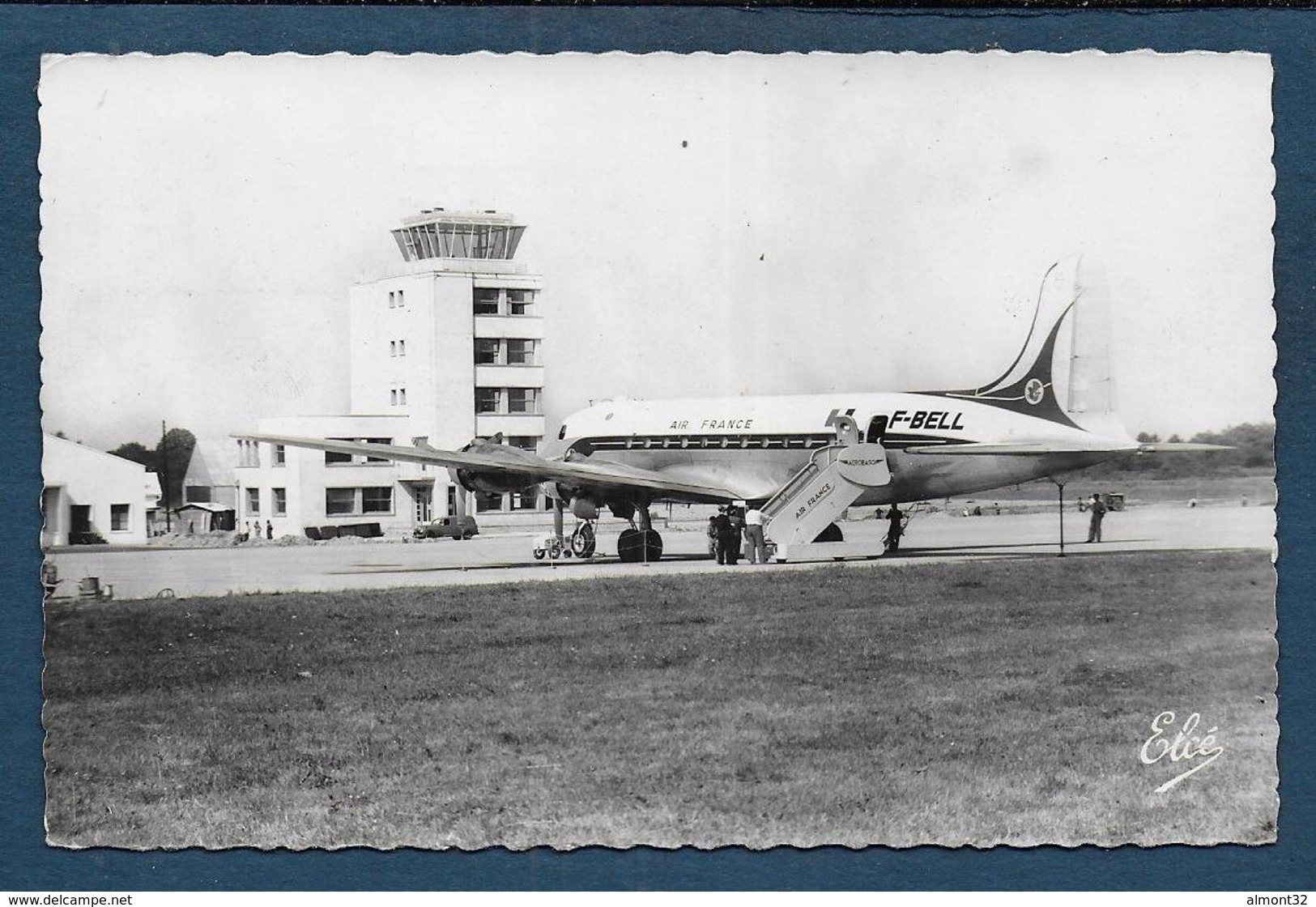 ANGLET - Aérodrome De Parme - Un Départ - Format Cpa - Anglet