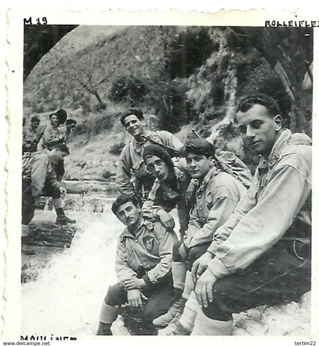 ( MOULINET  )( 06 ALPES MARITIMES ) ( MILITAIRES)( 1936 ) - Guerra, Militari
