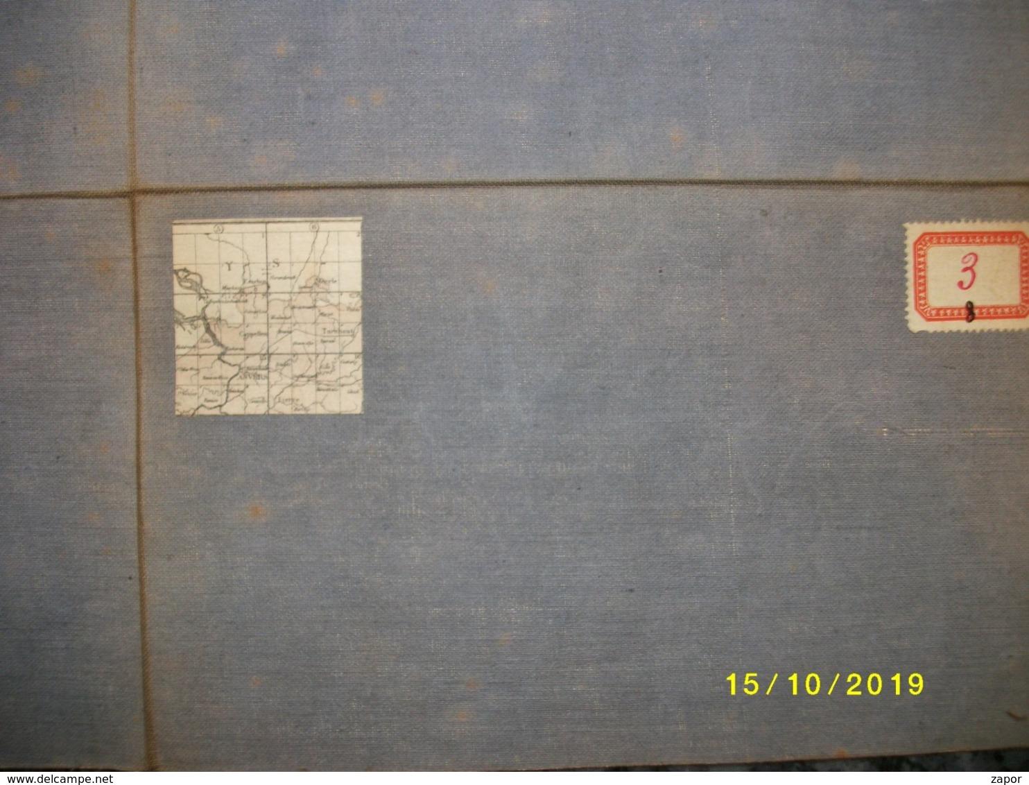 Topografische / Stafkaart Van Noord Antwerpen (Turnhout - Herentals - Essen - Meerle) - Topographical Maps