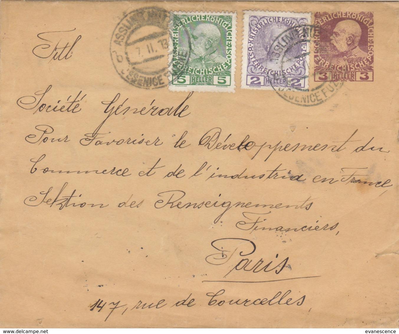 AFFRANCHISSEMENT SUR ENVELOPPE AVEC UN ENTIER POSTAL    ///  REF  OCT. 19 //   N° 9929 - Austria