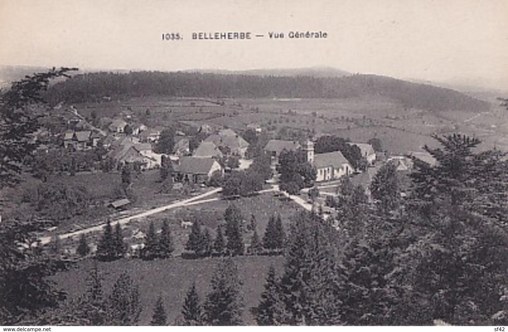 BELLEHERBE                VUE GENERALE - France