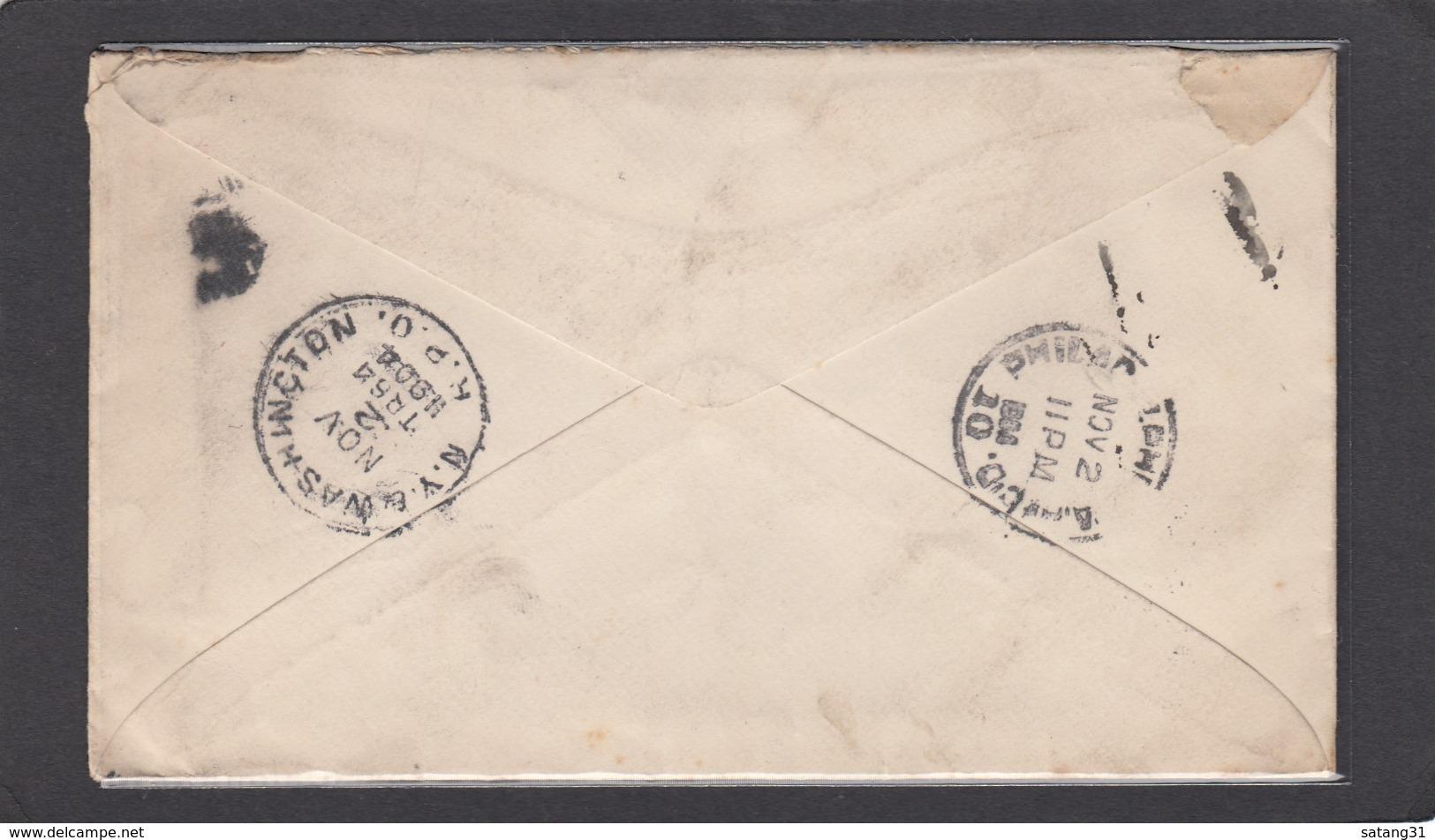 """LETTRE PAR EXPRESS DE L'UNIVERSITÉ """"JOHN HOPKINS"""" A BALTIMORE POUR PHILADELPHIE,1904. - Vereinigte Staaten"""