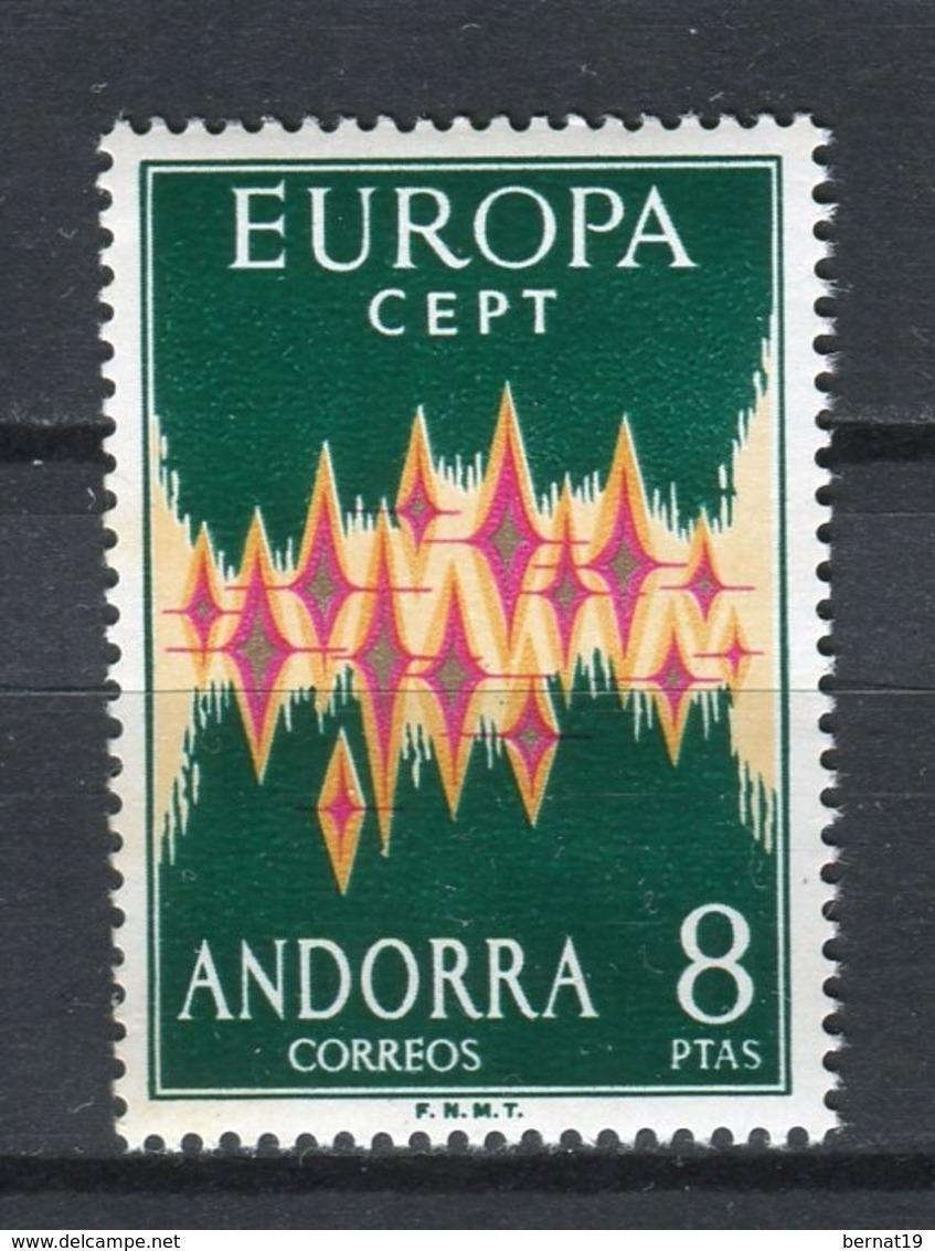 Europa CEPT 1972. Andorra ** MNH. - Europa-CEPT