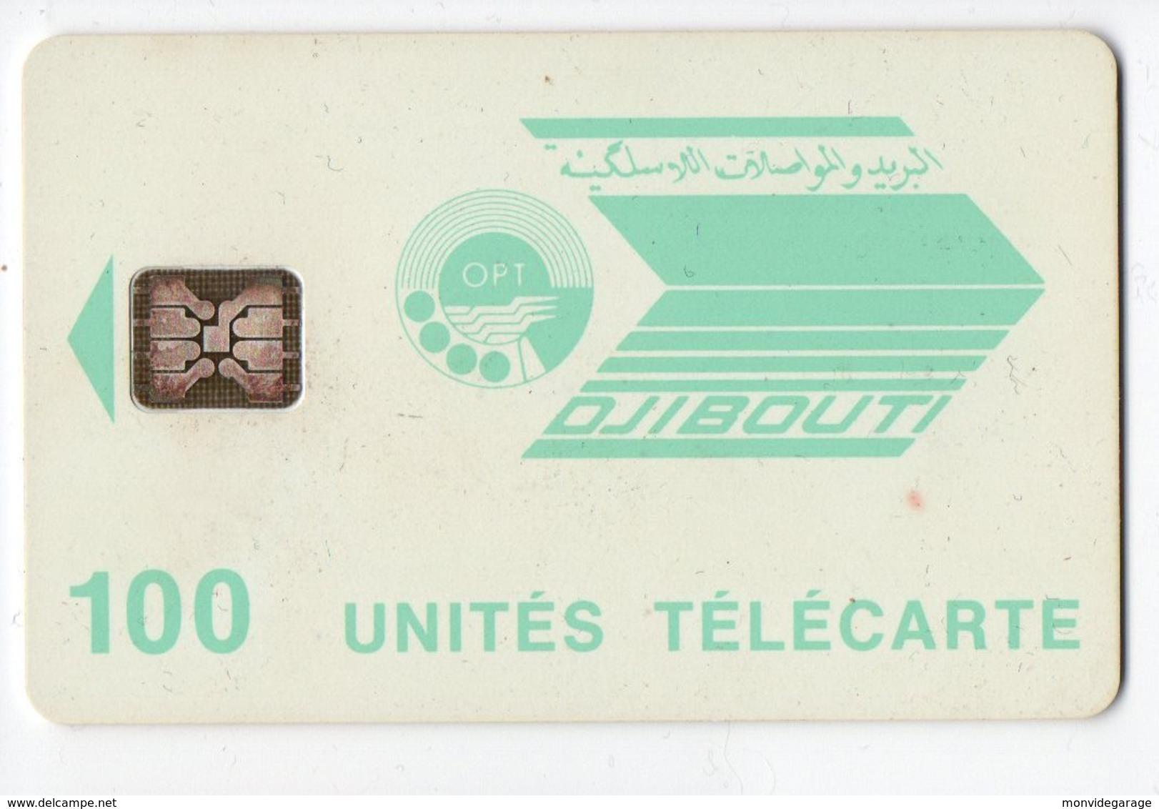 Télécarte De Djibouti - 100 Unités - Dschibuti