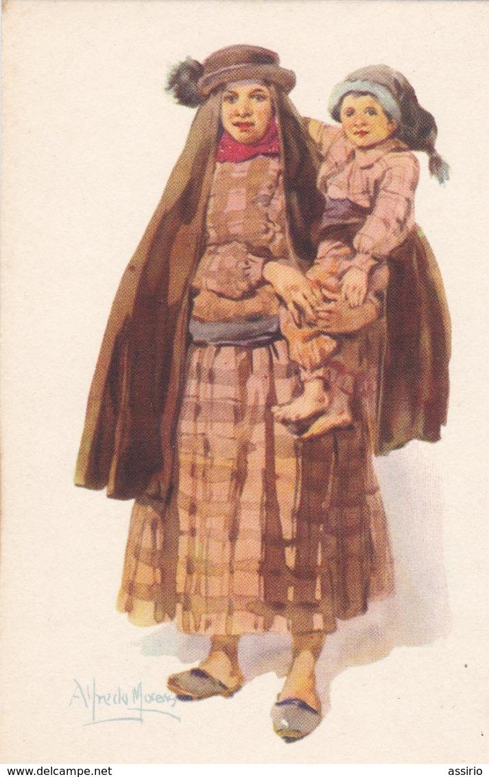 Portugal-Costumes  -nº 7 -8-9-10-11-12-13-14-15-16  -(10 X 2,00) - Portugal