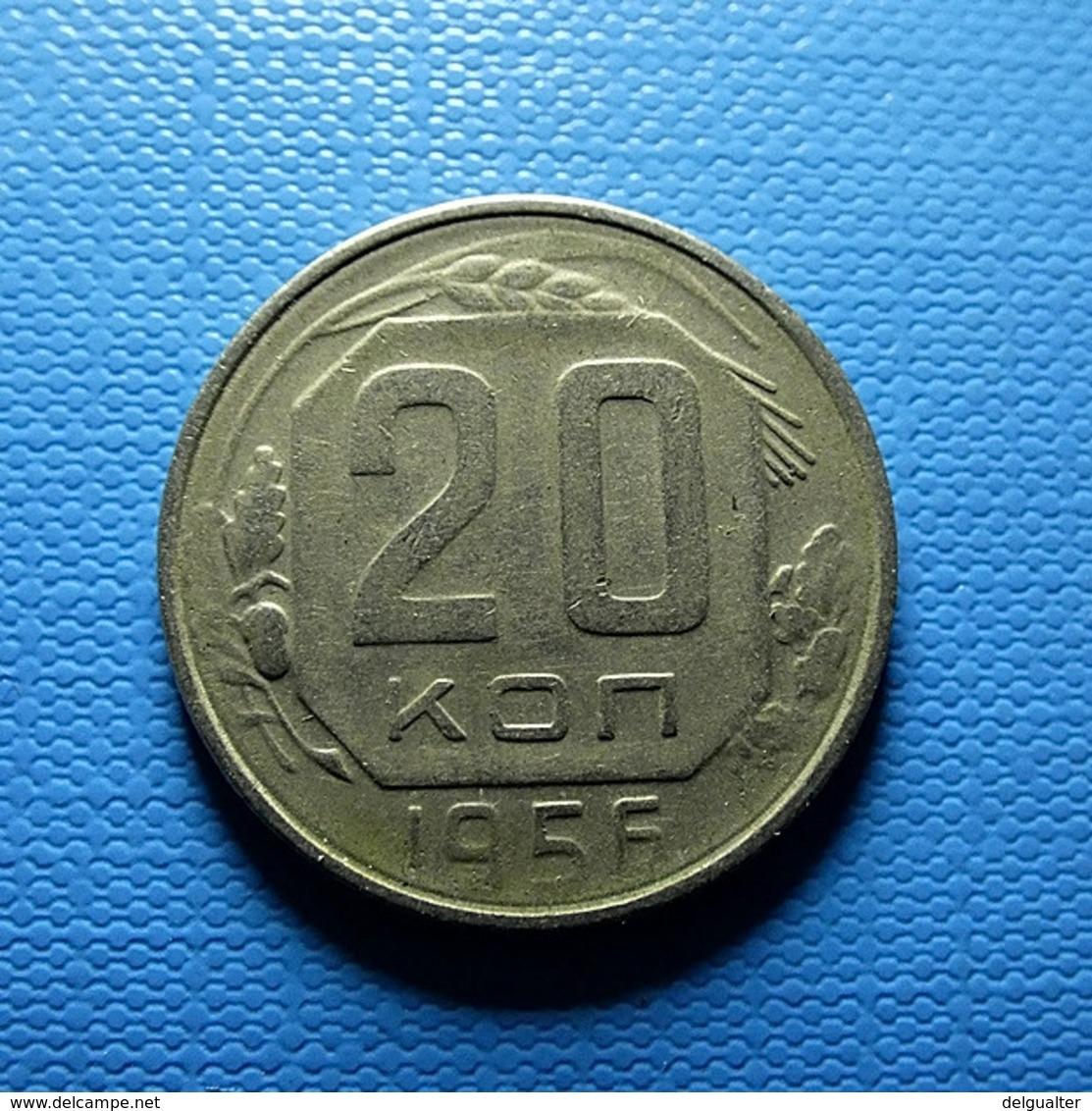 Russia 20 Kopeks 1956 - Rusland