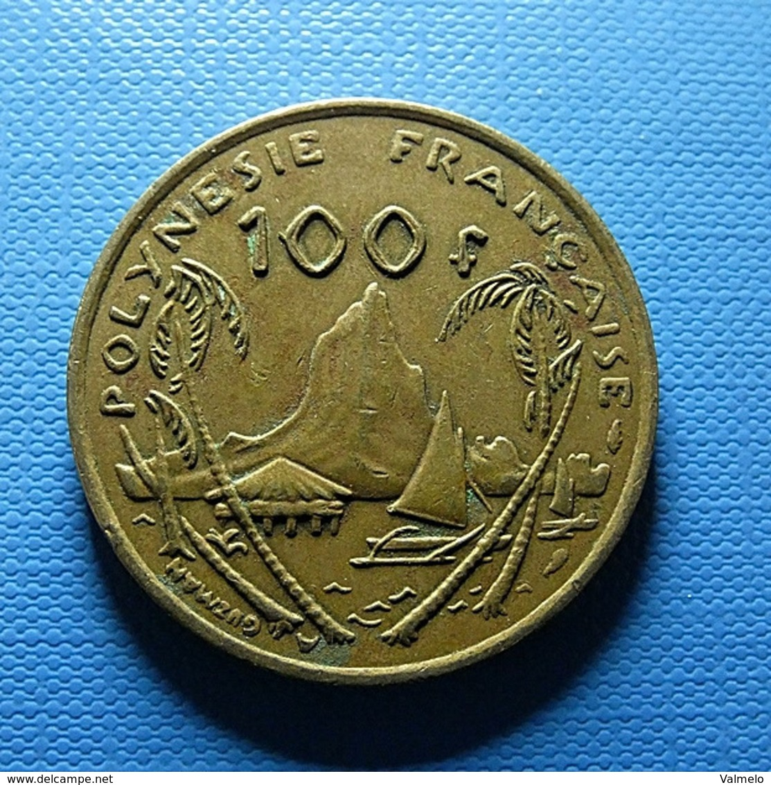 French Polynesia 100 Francs 1976 - Französisch-Polynesien