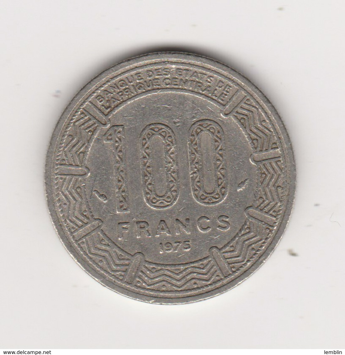 100 FRANCS 1975 - Tsjaad