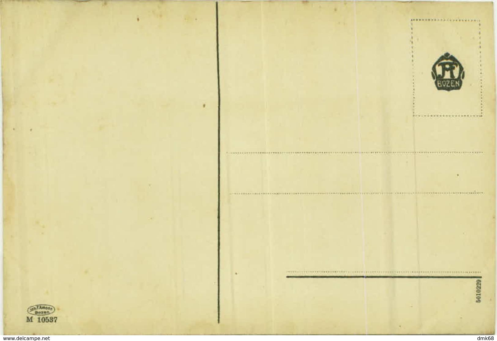 VON DER SPITZE DES ORTLER IN TIROL - EDIT J.H.AMONN BOZEN  - 1910s (BG4691) - Bolzano (Bozen)