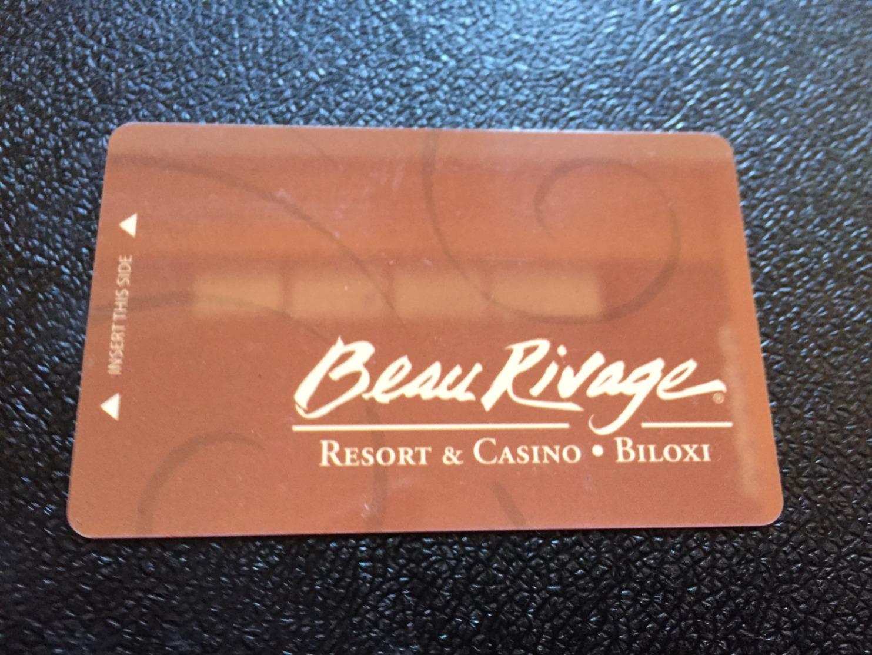 Hotelkarte Room Key Keycard Clef De Hotel Tarjeta Hotel  BEAU RIVAGE CASINO BILOXI - Telefonkarten