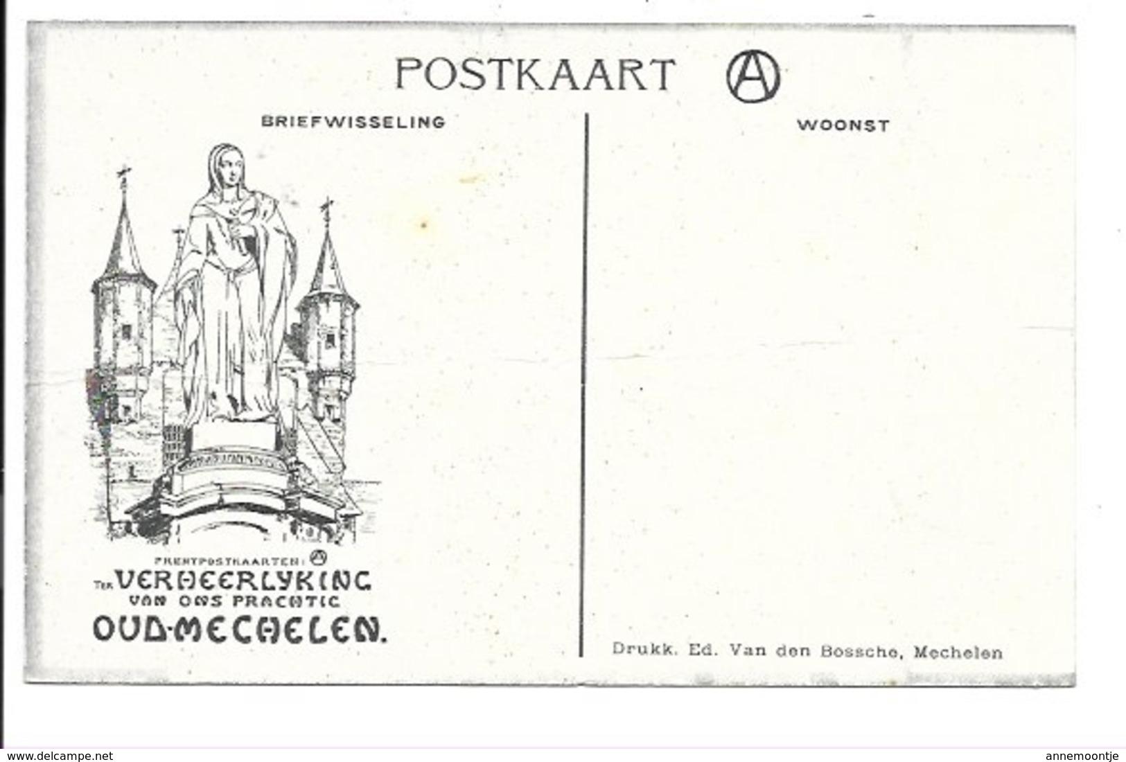 Alfred Ost - Mechelen - De Dijle N°14...... - Mechelen