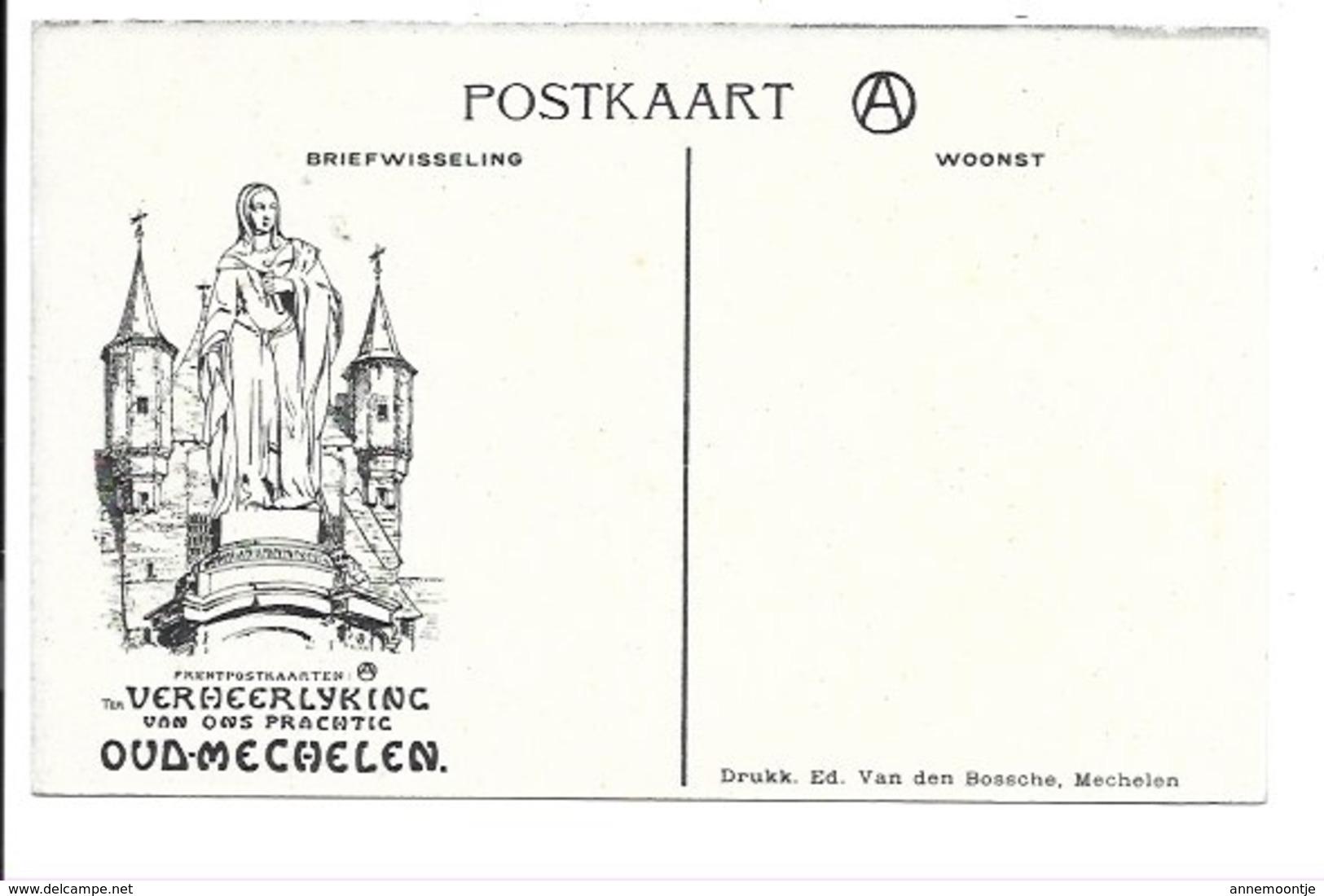 Alfred Ost - Mechelen - De Dijle N°26...... - Mechelen