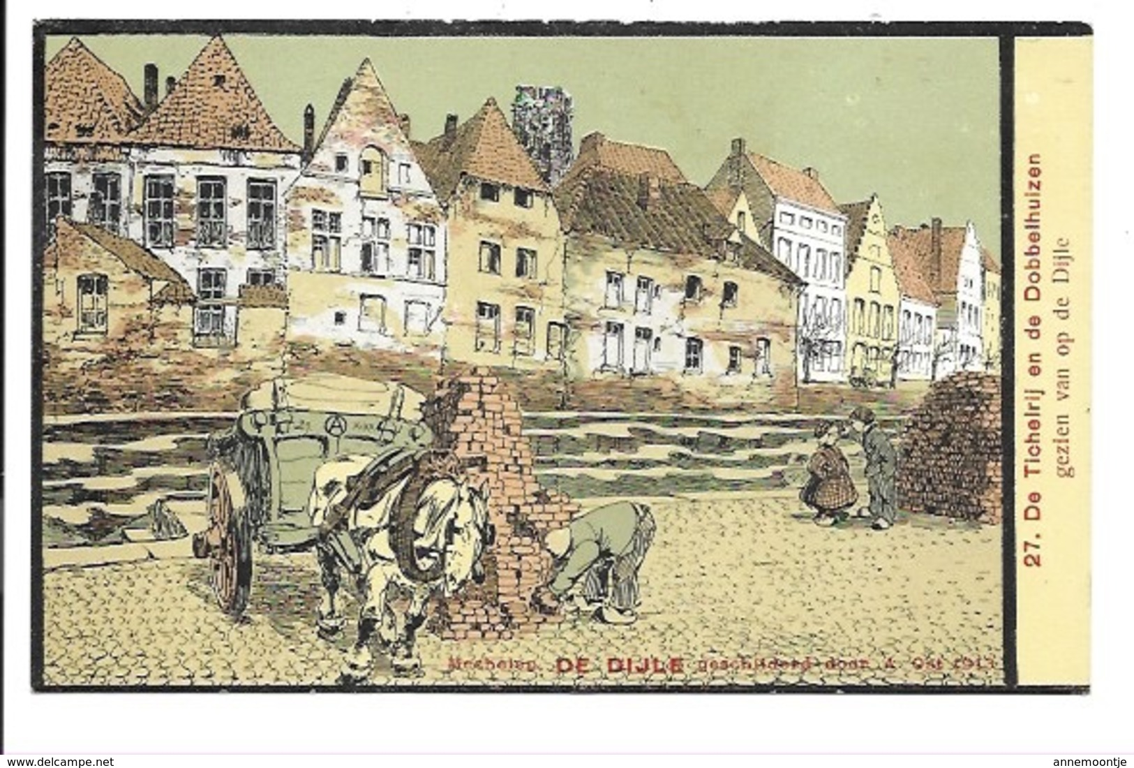 Alfred Ost - Mechelen - De Dijle N°27...... - Mechelen
