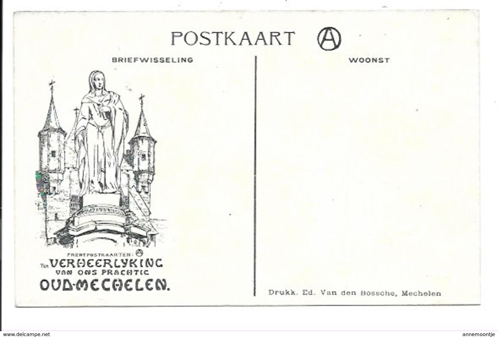 Alfred Ost - Mechelen - De Dijle N°28...... - Mechelen