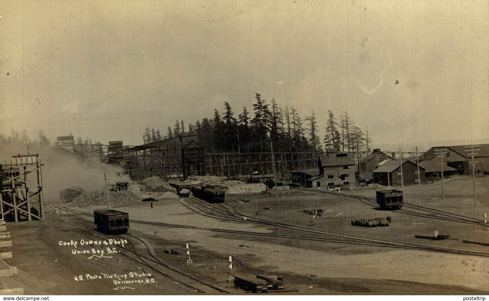 RPPC COOKE OVENS SHOPS  UNION BAY BC VANCOUVER CANADA - Mineral