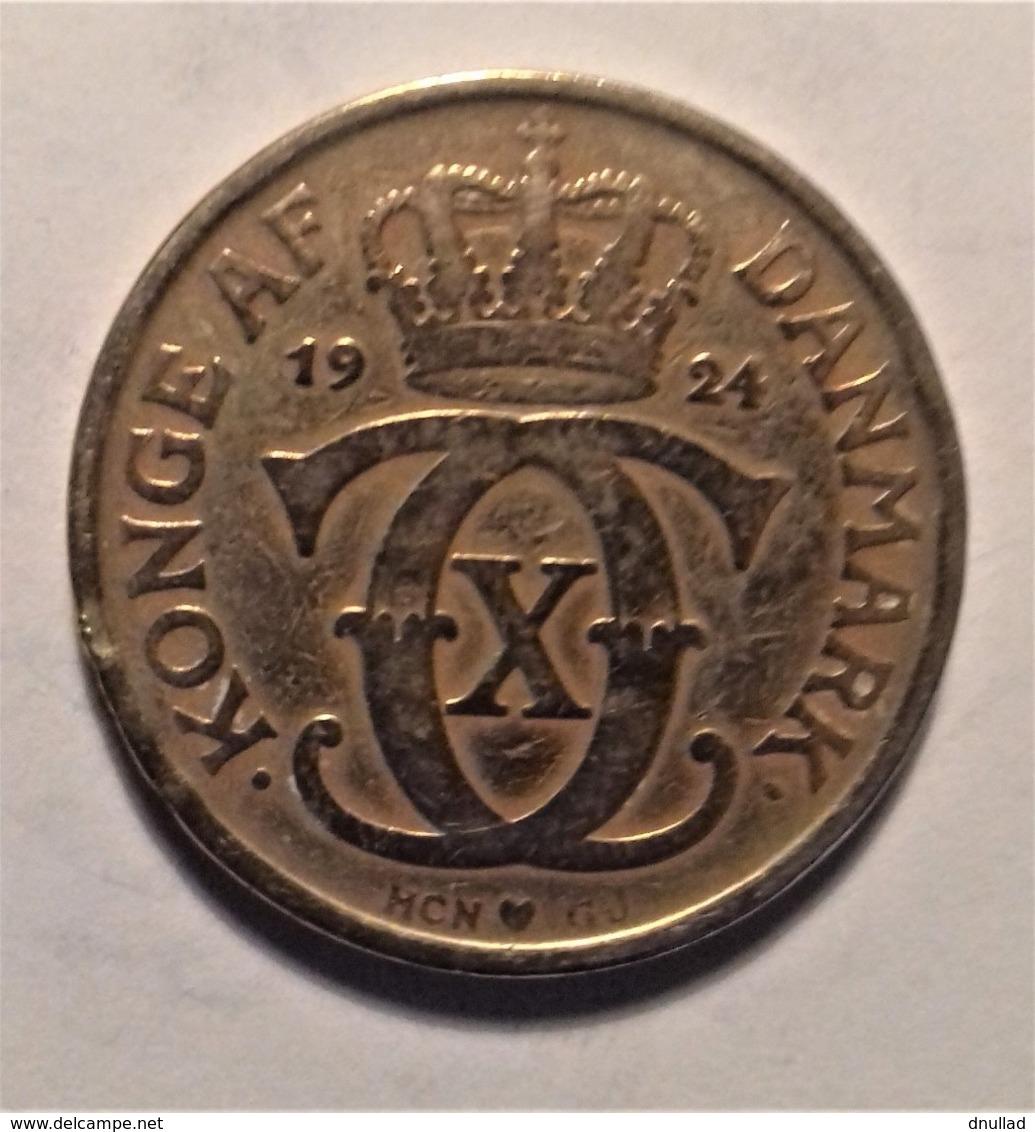 Denmark 2 Krone  1924 - Denmark