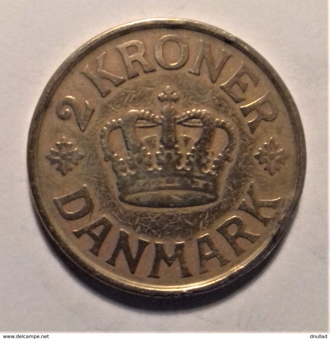 Denmark 2 Krone  1924 - Danimarca