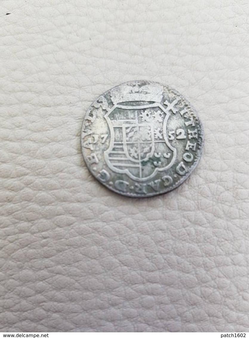 Jean-Théodore De Bavière1752  Double-escalin ?????? - Monnaies Antiques