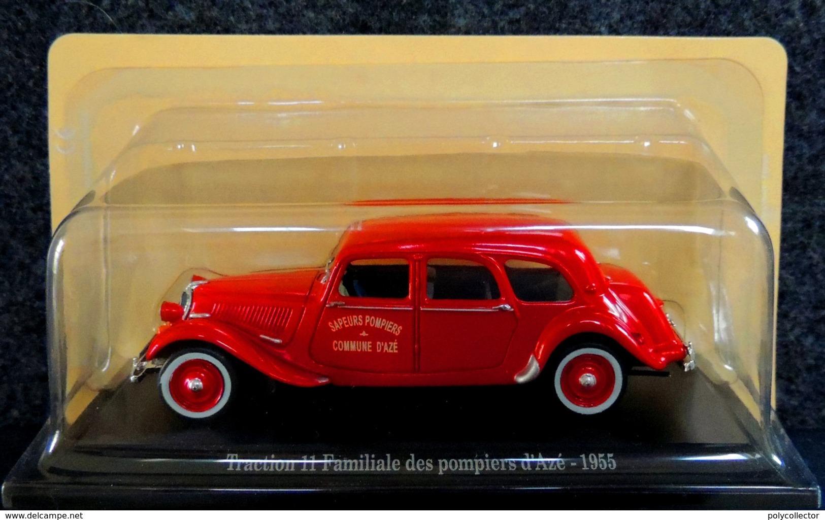 Citroën Traction 11 Familiale Pompiers D'Azé 1955 - 1/43 NEUF Sous Blister - Voitures, Camions, Bus