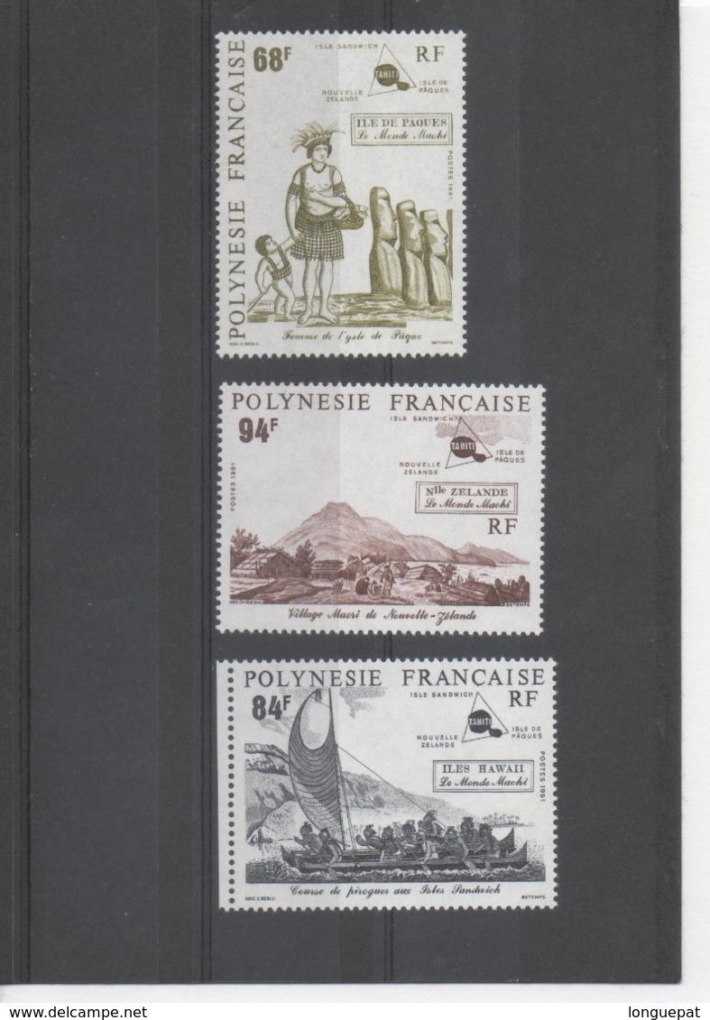 POLYNESIE Française - Monde Maohi : Île De Pâques, Îles Sandwich, Nouvelle-Zélande - - Polynésie Française