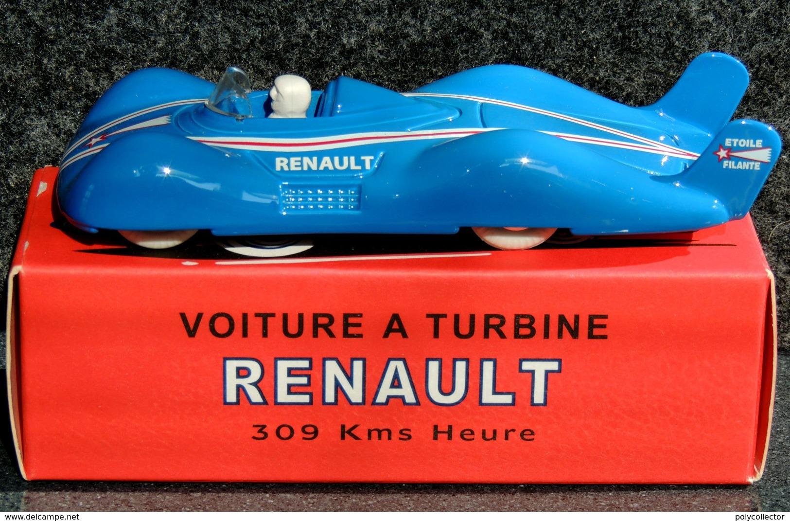 Renault Etoile Filante à Turbine ELIGOR 1/43 NEUF Boîte Carton - Voitures, Camions, Bus