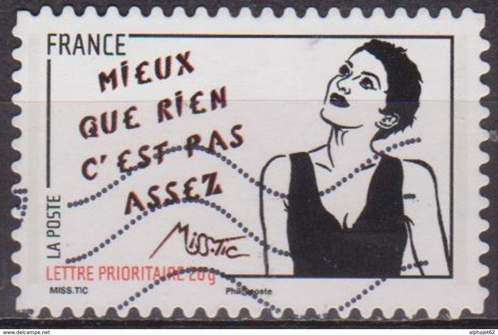 Street Art - FRANCE - Droits De La Femme - Pas Assez - Miss Tic -  N° 547 - 2011 - Frankrijk