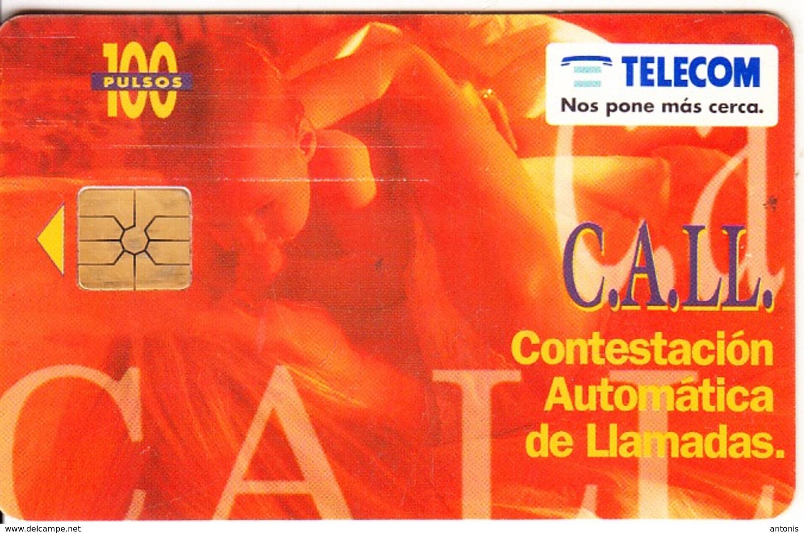 ARGENTINA - C.A.LL., Telecom Argentina Telecard, Chip GEM1a, 06/96, Used - Argentinien