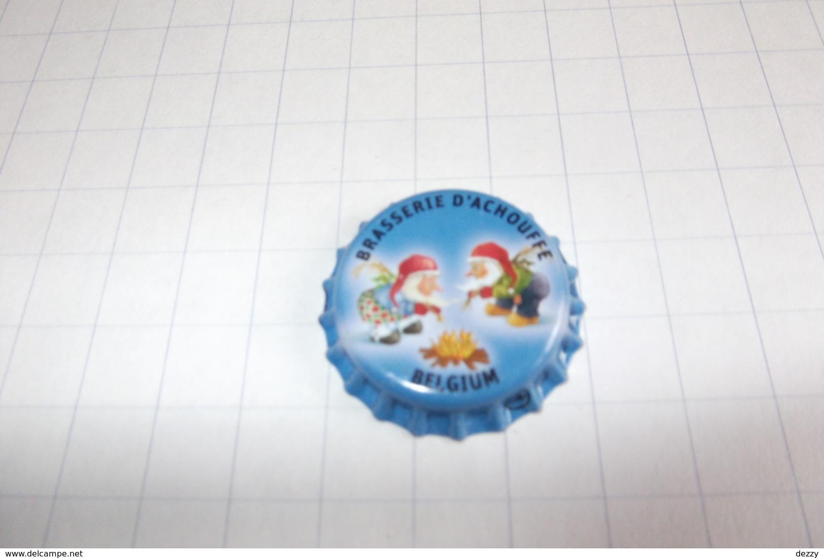 BEERCAPS BELGIUM/BIERDOPPEN BELGIË : D'ACHOUFFE N'ICE CHOUFFE - Beer