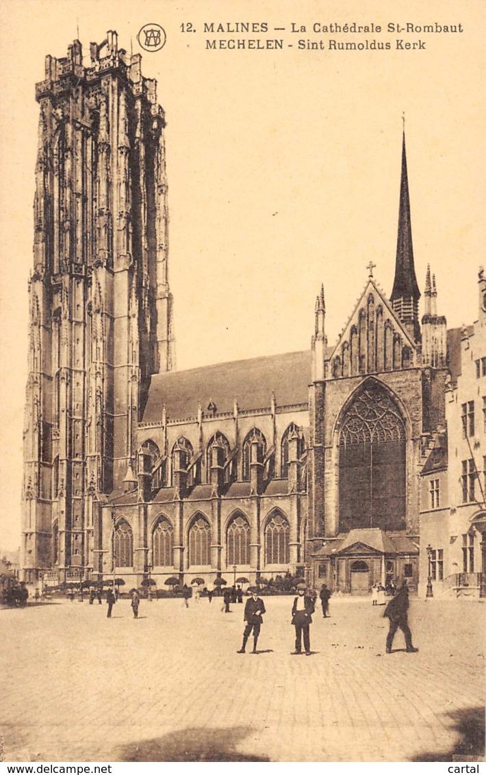 MECHELEN - Sint Rumoldus Kerk - Mechelen