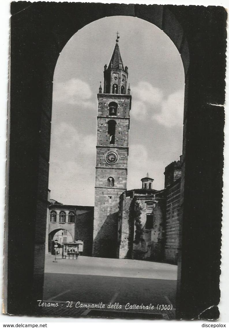 W5249 Teramo - Il Campanile Della Cattedrale / Viaggiata 1957 - Teramo