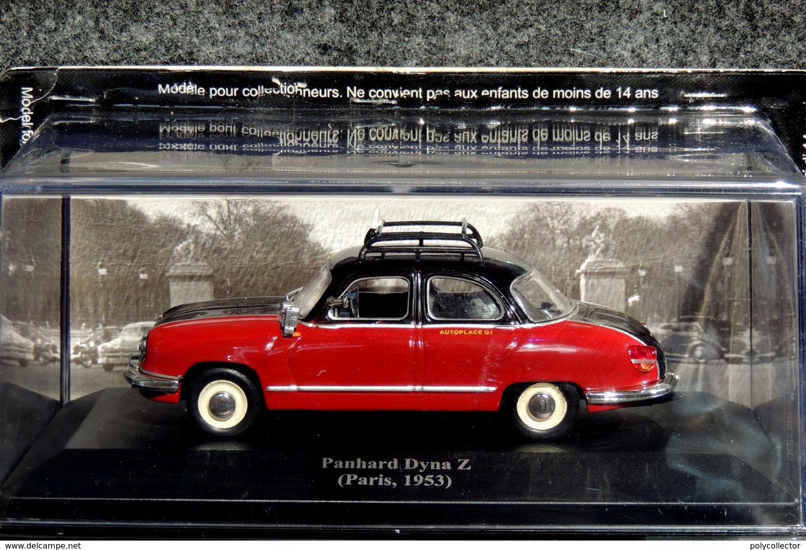 Panhard DYNA Z Taxi De Paris 1953 - 1/43 - NEUF Sous Blister Et Boîte Plastique - Voitures, Camions, Bus