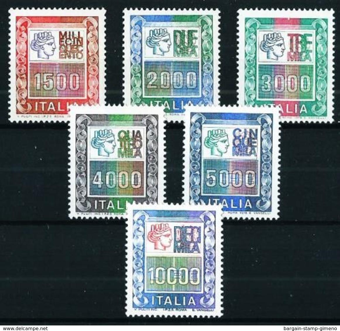 Italia Nº 1367/71-1581 Nuevo Cat. 42,50€ - 6. 1946-.. Republic