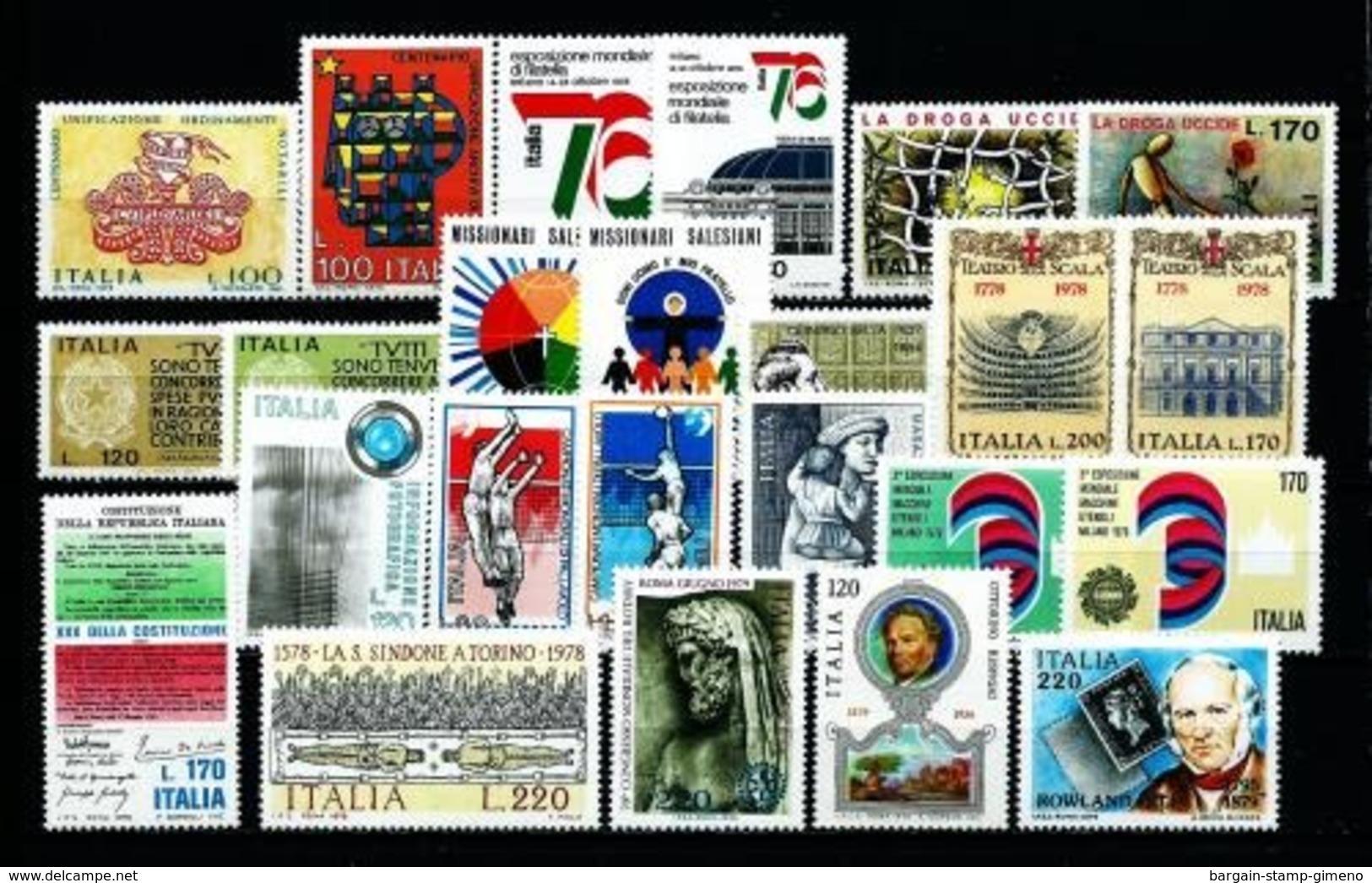 Italia (17 Series Diferentes) Nuevo Cat. 11,05€ - 6. 1946-.. Republic