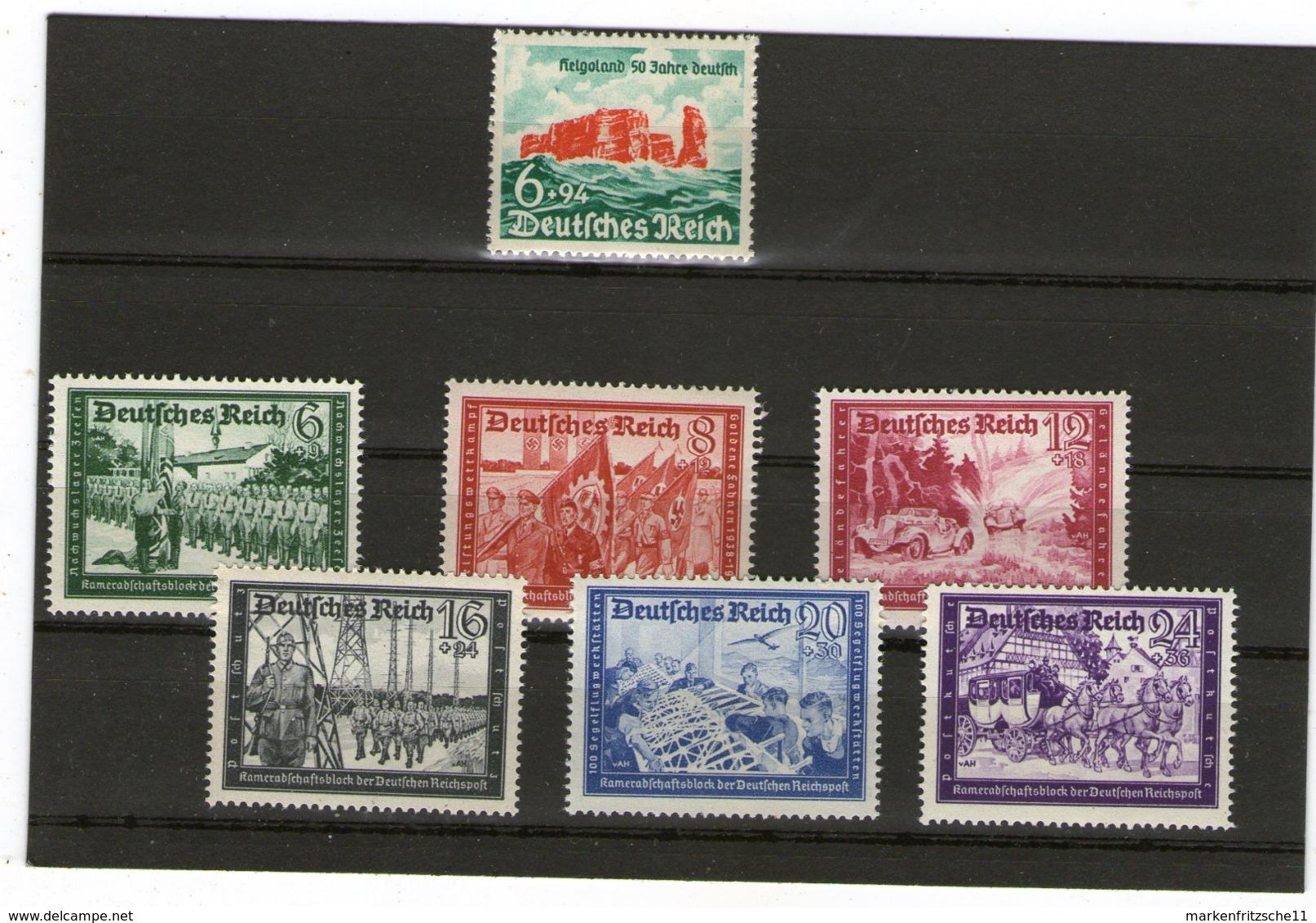 Deutsches Reich ** - Lots & Kiloware (max. 999 Stück)
