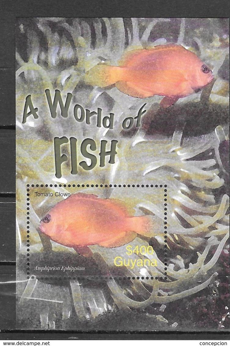 GUYANA Nº HB 360 - Fische
