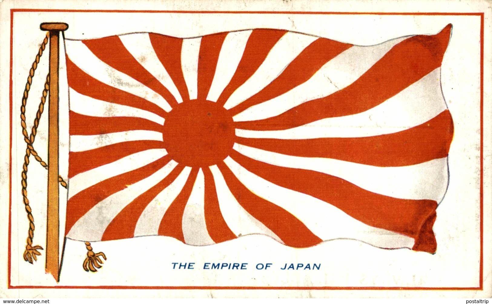JAPON // JAPAN. - THE EMPIRE OF JAPAN. PUBLI. VERY POPULAR NATIONAL FLAG AND SHEPERDS BEST TEA - Japón